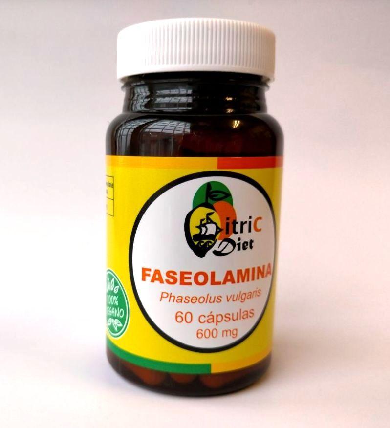 Faseolamina 60 cápsulas